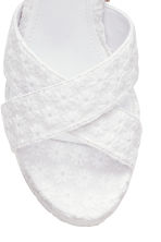 Platform sandals - White - Ladies | H&M CN 4
