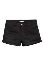 Twill shorts - Black - Ladies | H&M GB 2