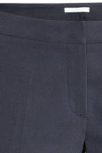 Suit trousers - Dark blue - Ladies | H&M 3