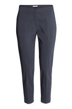 Suit trousers - Dark blue - Ladies | H&M CN 3