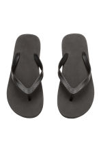 Flip-flops - Black - Men | H&M CN 2