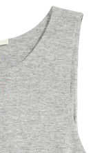 A-line dress - Grey marl - Ladies | H&M CN 3