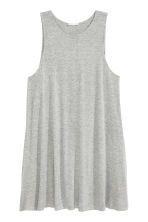 A-line dress - Grey marl - Ladies | H&M CN 2