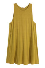 A-line dress - Olive green - Ladies | H&M GB 2