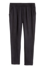 Pull-on trousers - Black - Ladies | H&M 6