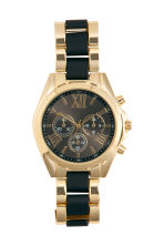 Watch - Black/Gold - Ladies | H&M CN 1