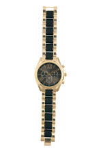 Watch - Black/Gold - Ladies | H&M CN 2