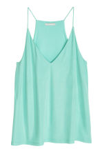 V-neck top - Mint - Ladies | H&M CN 1