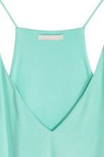 V-neck top - Mint - Ladies | H&M CN 2