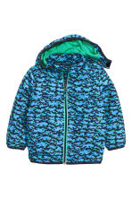Windbreaker - Dark blue/Blue - Kids | H&M CN 3