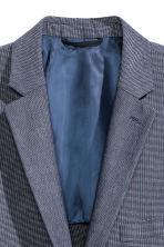 Blazer Oxford Slim fit - Blu scuro - UOMO | H&M IT 3