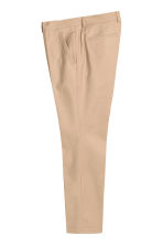 Suit trousers in cotton - Beige - Men | H&M CN 2