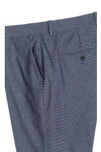 Oxford weave suit trousers - Dark blue - Men | H&M CN 4