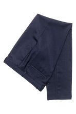 Suit trousers Skinny fit - Dark blue - Men | H&M CN 3