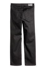 Cropped High Jeans - Black - Ladies | H&M GB 3