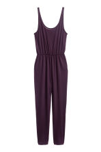 Sleeveless jumpsuit - Dark purple - Ladies | H&M 2