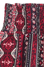 Patterned skirt - Dark red/Patterned - Ladies | H&M CN 3