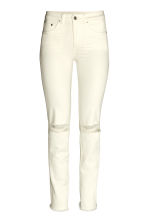 Slim Regular Jeans - Natural white - Ladies | H&M CN 2
