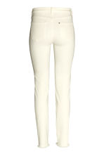 Slim Regular Jeans - Natural white - Ladies | H&M CN 3