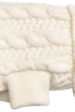 Jacquard-knit dog jumper - Natural white - Ladies | H&M CN 3