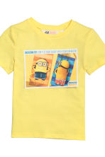 2-pack printed T-shirts - Yellow/Minions - Kids | H&M CN 4