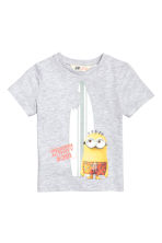 2-pack printed T-shirts - Yellow/Minions - Kids | H&M CN 3
