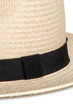 Straw hat - Natural white - Men | H&M CN 2
