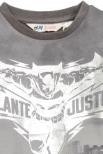 Printed T-shirt - Dark grey/Batman - Kids | H&M CN 3