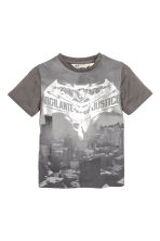 Printed T-shirt - Dark grey/Batman - Kids | H&M CN 2