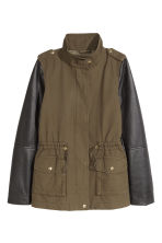 Cargo jacket - Khaki green/Black - Ladies | H&M CN 2