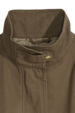 Cargo jacket - Khaki green/Black - Ladies | H&M CN 3