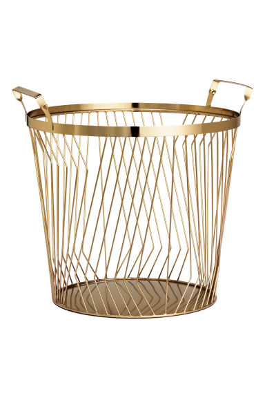 Large Wire Basket Gold H Amp M Gb