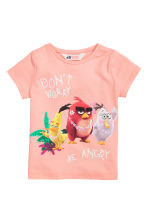 2-pack jersey tops - White/Angry Birds - Kids | H&M CN 3