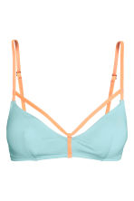 Top bikini - Turchese/albicocca - DONNA | H&M IT 2