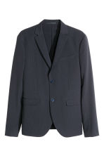 Blazer in seersucker - Blu scuro - UOMO | H&M IT 2