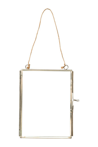 Metal photo frame - Silver - Home All | H&M CN 1
