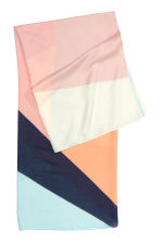 Patterned sarong - Powder pink - Ladies | H&M GB 2