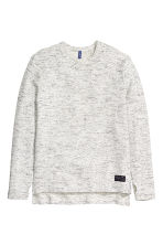Marled jumper - Natural white - Men | H&M CN 2