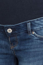 MAMA Denim shorts - Dark denim blue - Ladies | H&M GB 4
