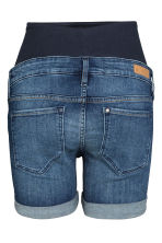 MAMA Denim shorts - Dark denim blue - Ladies | H&M GB 3