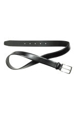 Leather belt - Black - Men | H&M 2