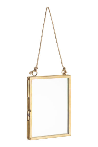 Small metal frame - Gold - Home All | H&M CN 1