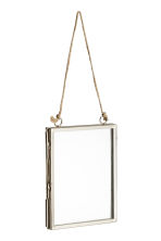 Small metal frame - Silver -  | H&M IE 1