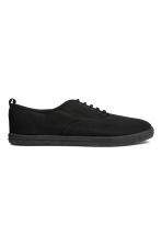 Canvas trainers - Black - Men | H&M CN 1