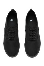 Canvas trainers - Black - Men | H&M CN 2