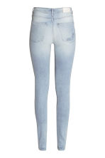 Skinny High Trashed Jeans - Light denim blue - Ladies | H&M CN 3