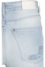 Skinny High Trashed Jeans - Light denim blue - Ladies | H&M CN 4