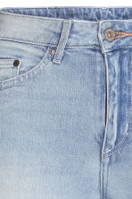 Skinny High Trashed Jeans - Light denim blue - Ladies | H&M CN 5