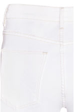 Skinny High Trashed Jeans - White - Ladies | H&M CN 4