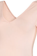 MAMA V-neck jersey top - Powder pink - Ladies | H&M CN 3